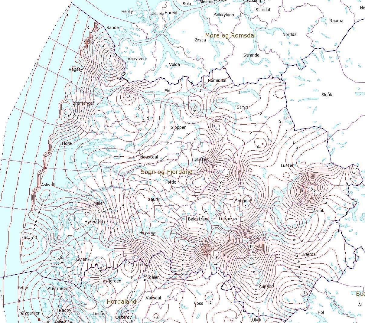 fjaler kommune kart NN 2000   Nytt høgdegrunnlag i Fjaler kommune